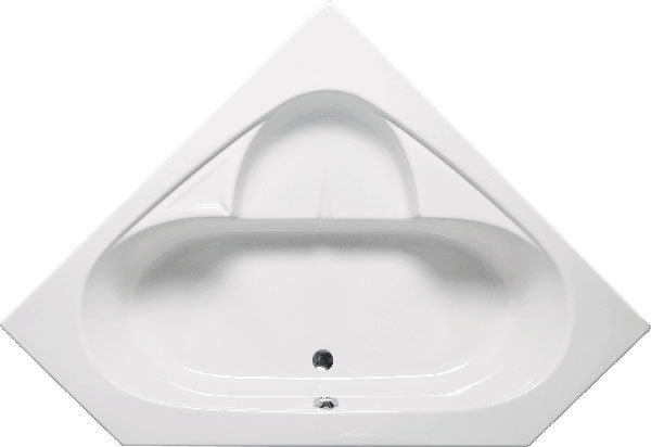"Americh BM0117P Bermuda I 59"" x 59"" Drop In Platinum Whirlpool Tub"