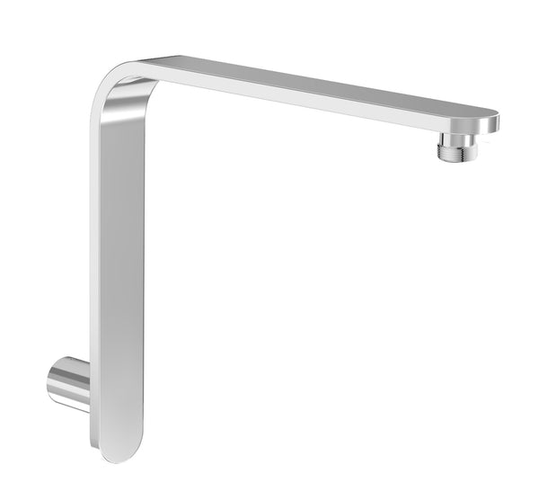 "BARiL BRA-1409-02 15"" L-Shaped Shower Arm With Flange"