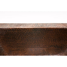 "Load image into Gallery viewer, Premier Rectangle Copper Bar Sink W/  2"" Drain Size BRECDB2"