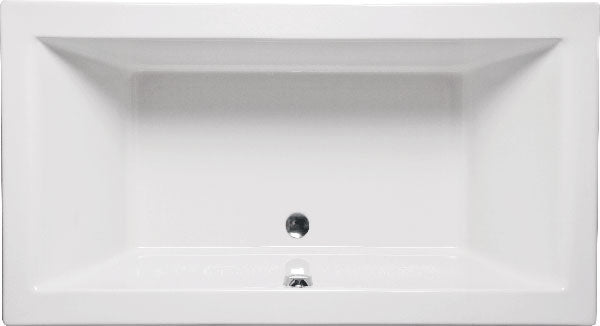 "Americh CH6636P Chios 66"" x 36"" Drop In Platinum Whirlpool Tub"