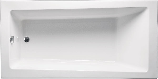 "Americh CN6030PA2 Concorde 60"" x 30"" Drop In Platinum Combo 2 Tub"