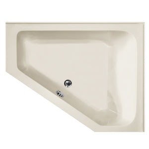 Hydro Systems COU6048ATO-LH Courtney 60 X 48 Acrylic Soaking Left Hand Tub