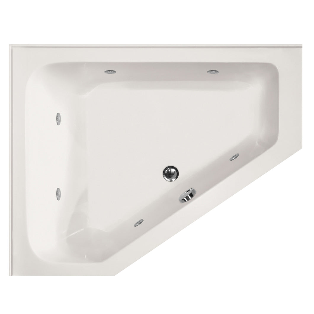 Hydro Systems COU6048AWP-RH Courtney 60 X 48 Acrylic Whirlpool Jet Tub System Right Hand Tub