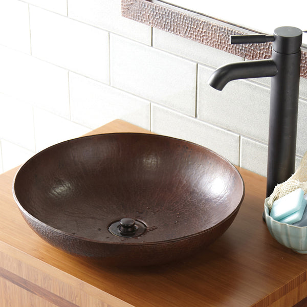 Native Trails CPS Maestro Sonata Petit Copper Bath Sink