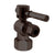 Westbrass D103BL Angle Stop, 1/2 in. IPS x 3/8 in. OD - 1/4-Turn Lever Handle