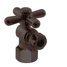 Load image into Gallery viewer, Westbrass D103BX Angle Stop, 1/2 in. IPS x 3/8 in. OD - 1/4-Turn Cross Handle