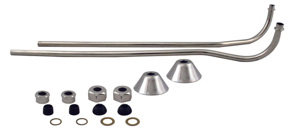 Westbrass D136 Double Offset Bath Supply