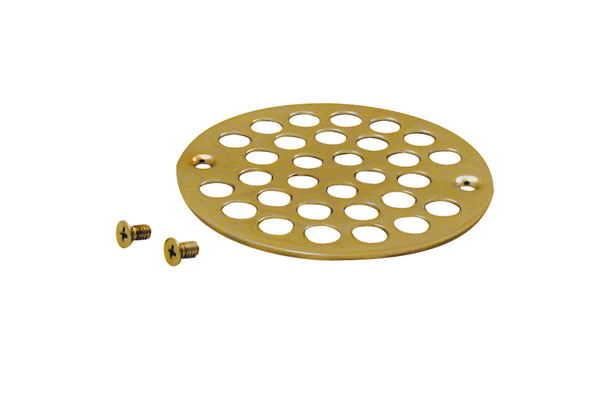 Westbrass D3192 4 in. O.D. Shower Strainer Cover Plastic-Oddities Style