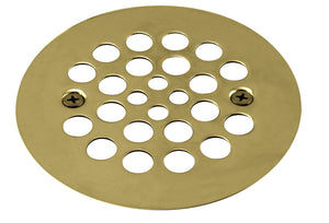 Westbrass D3193 4-1/4 in. O.D. Shower Strainer Plastic-Oddities Style