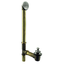 Load image into Gallery viewer, Westbrass D3264-20G Pull & Drain Bath Waste - 22 in. Make-Up, 20 Ga. Tubing