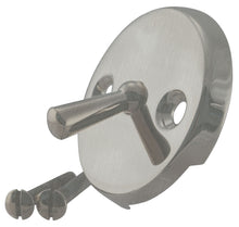 Load image into Gallery viewer, Westbrass D330 3-1/8 in. Two-Hole Trip Lever Overflow Face Plate and Screws