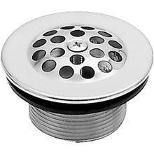 "Load image into Gallery viewer, Westbrass D3311-C 1-1/2"" Bath Drain with Grid and Screw"