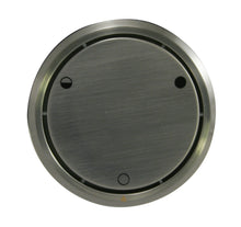 Load image into Gallery viewer, Westbrass D493CHM Round Replacement, Full or Partial Closing Metal Overflow