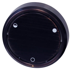 Westbrass D493CHM Round Replacement, Full or Partial Closing Metal Overflow