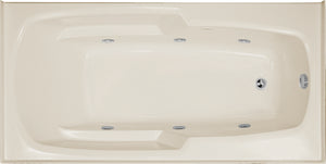 Hydro Systems ENT6632GCO-RH Entre 66 X 32 Airbath & Whirlpool Combo System Right Hand Tub