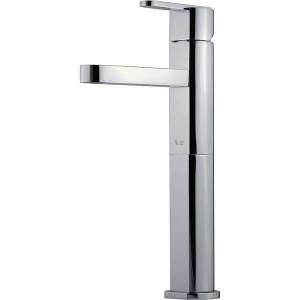 "Fluid Wisdom F28002 Single Lever Lavatory Tap with 6"" Extension Polished Chrome"
