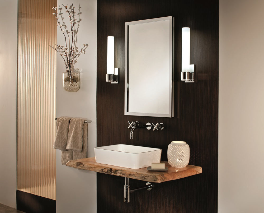 GlassCrafters 20W x 36H x 6D Lexington Framed Mirrored Medicine Cabinet, Flat, Right Electric, Oil Rubbed Bronze