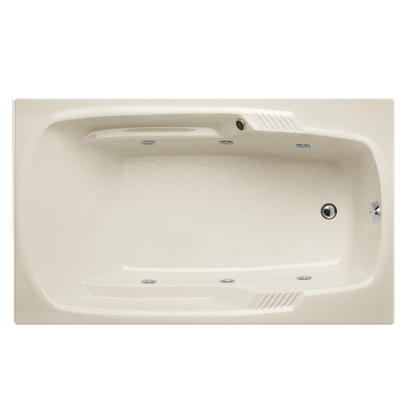 Hydro Systems ISA7236ACO Isabella 72 X 36 Acrylic Airbath & Whirlpool Combo Tub System