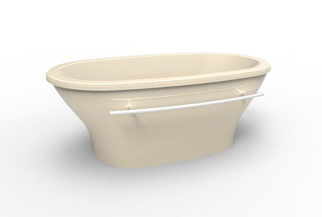 Hydro Systems KEL7040ATO Kellie 70 X 40 Freestanding Soaking Tub
