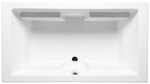 "Americh LA6642B Lana 66"" x 42"" Drop In Builder Whirlpool Tub"
