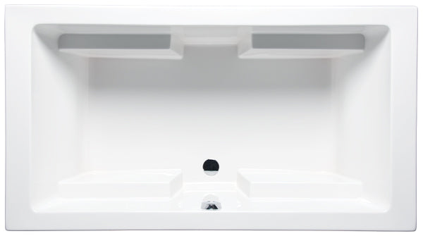 "Americh LA7234TA2 Lana 72"" x 34"" Drop In Airbath 2 Only Tub"