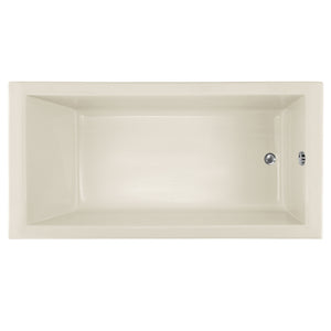 Hydro Systems LAC6030ATAS Lacey 60 X 30 Acrylic Thermal Air Tub System Shallow Depth