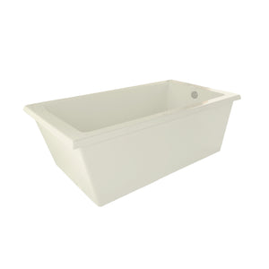 Hydro Systems LUC7236ATO Lucy 72 X 36 Freestanding Soaking Tub