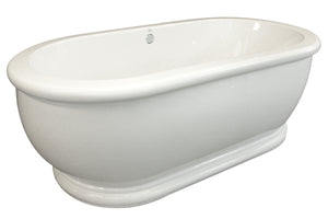 Hydro Systems MDM7036ATO Domingo 70 X 36 Acrylic Soaking Tub