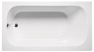 "Americh MI6632PA2 Miro 66"" x 32"" Drop In Platinum Combo 2 Tub"