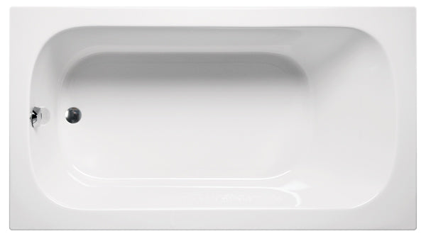 "Americh MI7236P Miro 72"" x 36"" Drop In Platinum Whirlpool Tub"