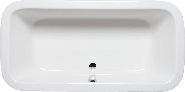 "Americh NE7236P Nerissa 72"" x 36"" Drop In Platinum Whirlpool Tub"