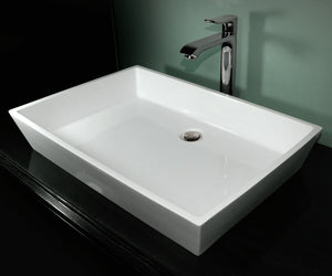 Hydro Systems PRI2215SSS Prism 22 X 15 Solid Surface Sink