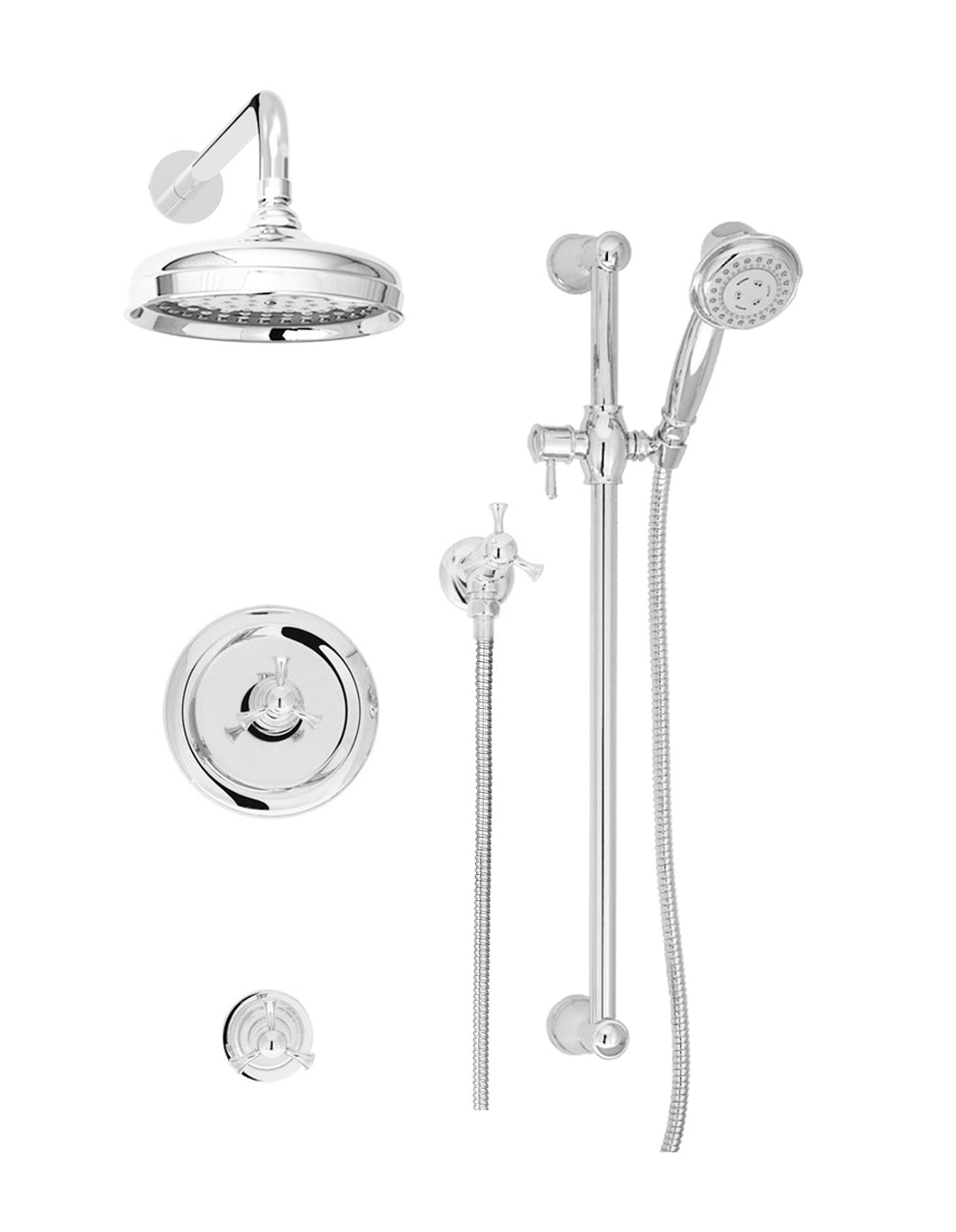 BARiL PRO-3001-71 Eva Complete Thermostatic Shower Kit