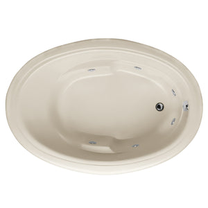 Hydro Systems RIL7242AWP Riley 72 X 42 Acrylic Whirlpool Jet Tub System