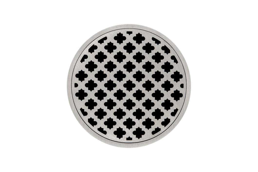 "Infinity Drain RM 5 5"" Strainer - Moor Pattern & 2"