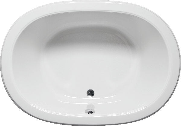 "Americh SF7244PA2 Sol Flat Deck 72"" x 44"" Drop In Platinum Combo 2 Tub"