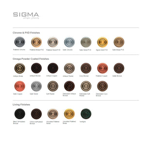 Sigma 1.97RH00.H Series 97 Robe Hook Honey Onyx Marble