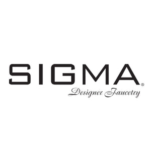 Sigma 1.629368 Pressure Balanced Tub & Shower Set w/Moderne Handles