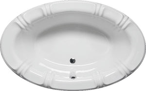 "Americh SP6642B Sandpiper 66"" x 42"" Drop In Builder Whirlpool Tub"