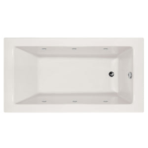 Hydro Systems SYD6030AWPS-RH Sydney 60 X 30 Acrylic Whirlpool Jet Tub System Shallow Depth Right Hand Tub