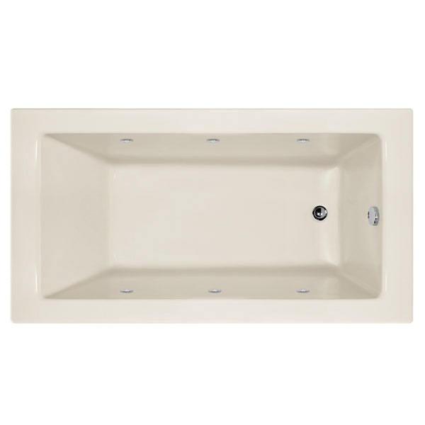 Hydro Systems SYD6032AWPS-RH Sydney 60 X 32 Acrylic Whirlpool Jet Tub System Shallow Depth Right Hand Tub