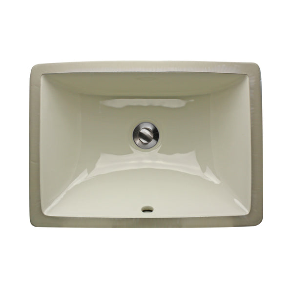 "Nantucket Sinks 16"" X 11"" Undermount Ceramic Sink"