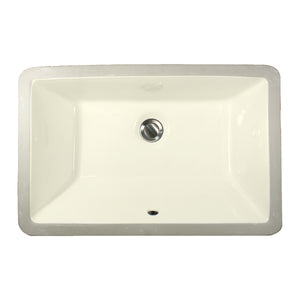 "Nantucket Sinks 19"" X 11"" Undermount Ceramic Sink"