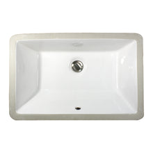 "Load image into Gallery viewer, Nantucket Sinks 19"" X 11"" Undermount Ceramic Sink"