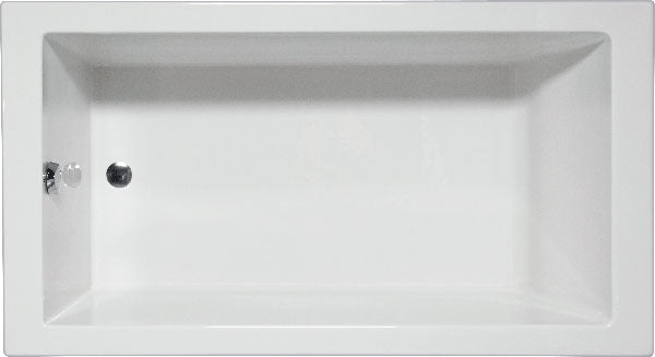 "Americh WR7232PA2 Wright 72"" x 32"" Drop In Platinum Combo 2 Tub"