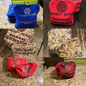 ACL approved bags - money bags - cornhole bags