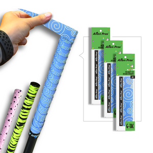 Alien Pros Golf Grip Wrapping Tapes (3-Pack) - Innovative Golf Club Grip Solution - Enjoy a Fresh New Grip Feel in Less Than 1 Minute