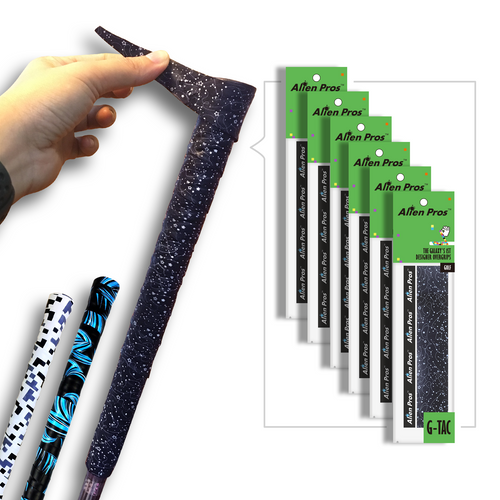 Alien Pros Golf Grip Wrapping Tapes (6-Pack) - Innovative Golf Club Grip Solution - Enjoy a Fresh New Grip Feel in Less Than 1 Minute