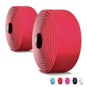 Alien Pros Bike Handlebar Tape PU (Set of 2) Black Red White Pink Blue - Enhance Your Bike Grip with These Bicycle Handle bar Tape - Wrap Your Bike for an Awesome Comfortable Ride