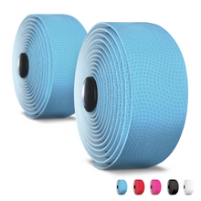 Load image into Gallery viewer, Alien Pros Bike Handlebar Tape PU (Set of 2) Black Red White Pink Blue - Enhance Your Bike Grip with These Bicycle Handle bar Tape - Wrap Your Bike for an Awesome Comfortable Ride